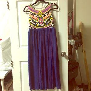 Amazing jeweled maxi dress